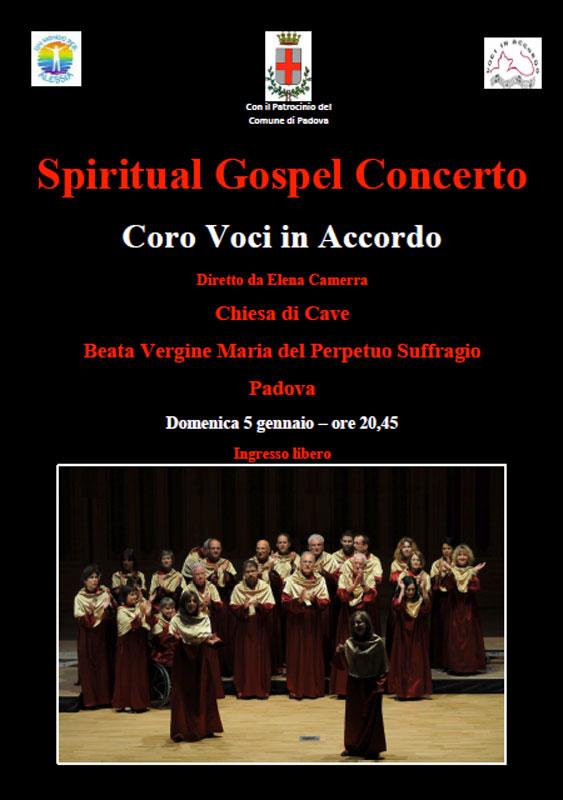 SPIRITUAL GOSPEL CONCERTO Padova