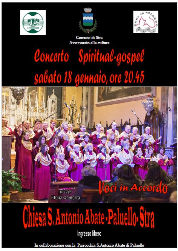 CONCERTO SPIRITUAL GOSPEL Paluello