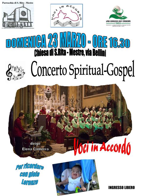 CONCERTO SPIRITUAL GOSPEL Mestre