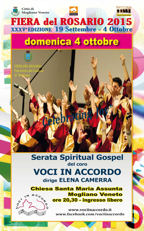 SERATA SPIRITUALS GOSPEL Mogliano Veneto