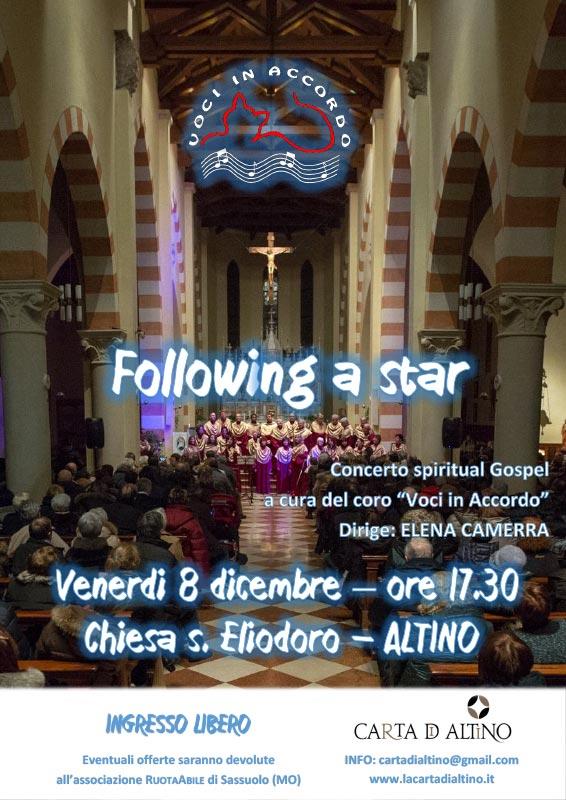 FOLLOWING A STAR Altino