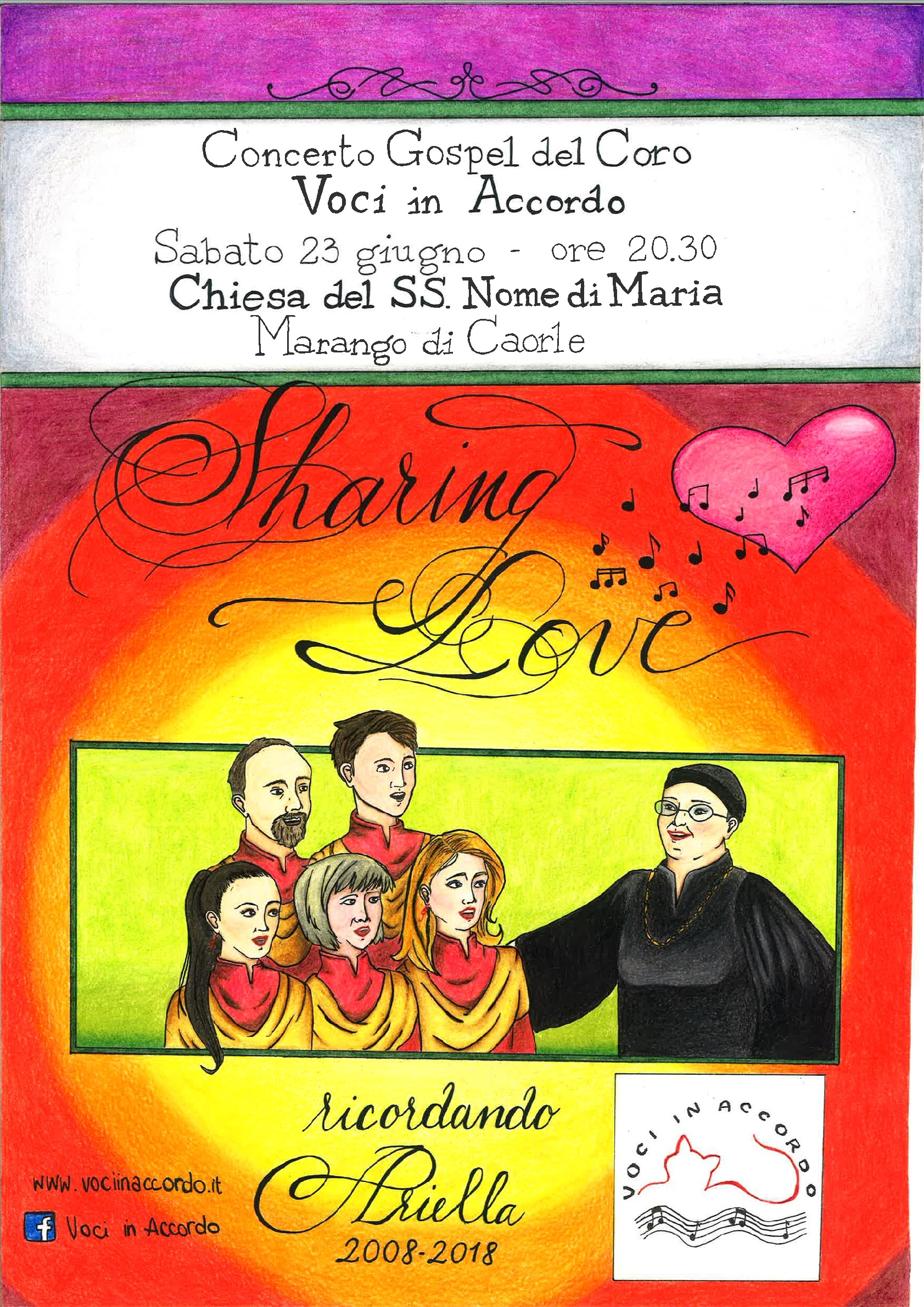 """""""Sharing in love"""" Concerto gospel"""